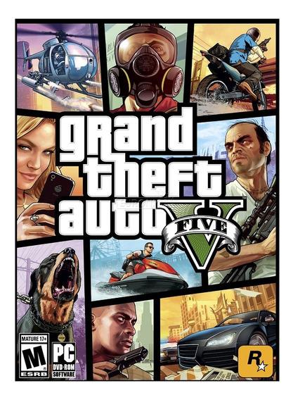 Grand Theft Auto V / Gta 5 Pc Game Frete Barato