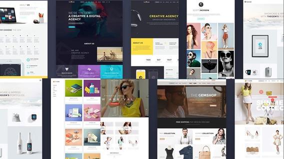 Pagina Web Tienda-empresaria + Hosting, Marketing Y Dominio