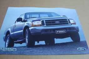 Poster Cartaz Foto Catalogo Distribuidor Ford F-250