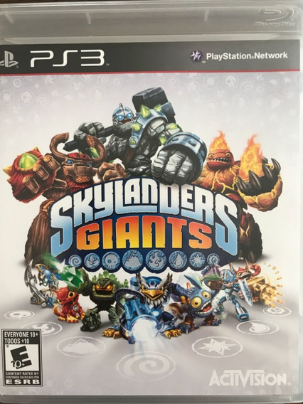 Skylanders Giants (somente Jogo) - Pronta Entrega