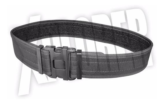 Cinturon Tactico Externo Triple Seguridad Correaje