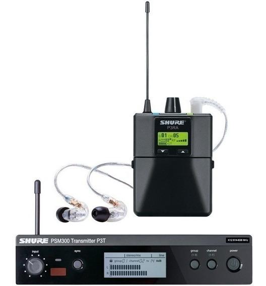 Monitor De Audio Pessoal Shure P3tra215cl-j13 Psm300 /nfe