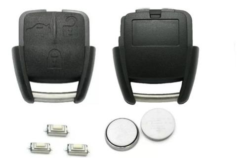 Imagem 1 de 5 de Kit Capa Chave Vectra Astra C/ Bateria E Botões