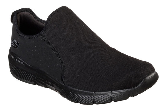 Zapatillas Hombre Skechers Flex Advantage 3.0 Baywynne Black