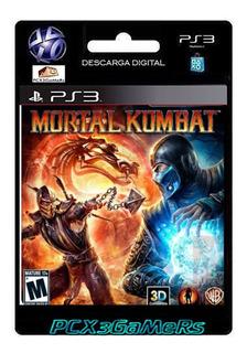 Ps3 Juego Mortal Kombat 9 Pcx3gamers