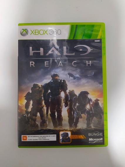 Jogo Xbox 360 Halo Reach Mídia Física Original
