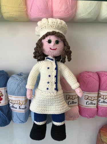Chef De Crochet Manualidades