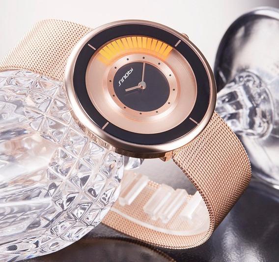 Relógio Feminino Masculino Sinobi 9703