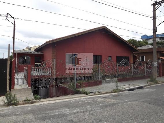 Casa A Venda No Bairro Campestre Em Santo André - Sp. - 227-1