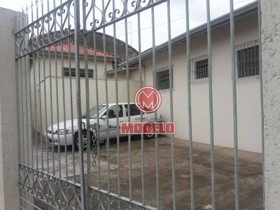 Casa Com 2 Dormitórios Para Alugar, 54 M² Por R$ 700/mês - Alto - Piracicaba/sp - Ca2797
