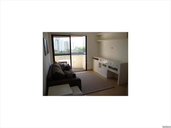 Apartamento Alto Padrão 1 Dormitório, Sendo Uma Suite, Excelente Localização No Bairro Do Morumbi São Paulo - Sp Brasil - Ap00028 - 34384987
