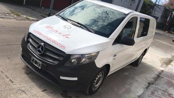 Mercedes-benz Vito 1.6 111 Cdi Furgon Mixto Aa 114cv 2015