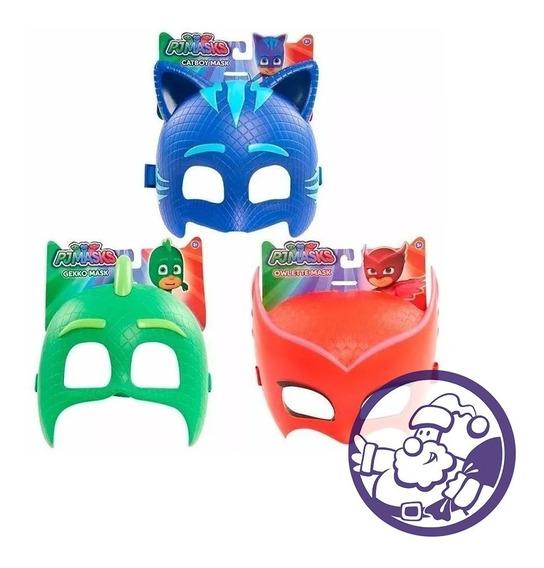 Heroes En Pijama Mascara Plastica Pj Mask Varios Modelos