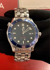 Omega Seamaster James Bond 41mm Blue Dial , Completo!!!