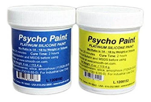Smooth-on Psycho Paint Platinum - Base De Pintura De Silicon