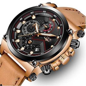 Relógio Lige Original Analogico De Luxo