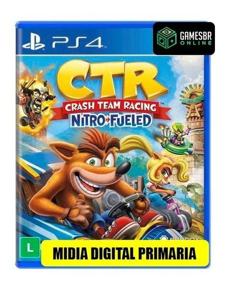 Crash Team Racing - Ps4 Dublado Em Pt-br Envio Hoje Code 1