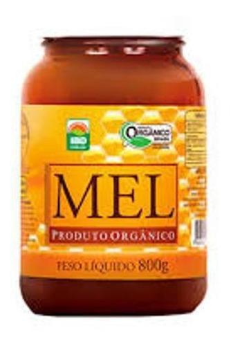 Mel Puro Orgânico Vidro Mn Food 800g