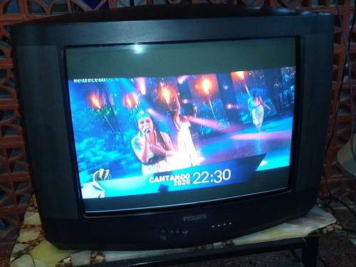Televisor Philips 24' En Perfecto Estado Y Funcionamiento