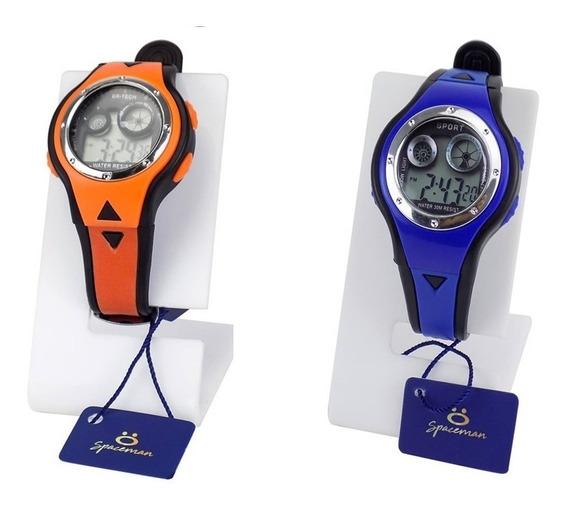 2 Relógio Masculino Digital Original À Prova D