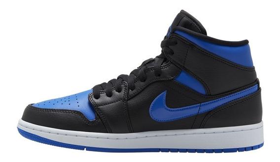 Air Jordan 1 Mid Hombres Moda 3 4 5 11 12 Casual