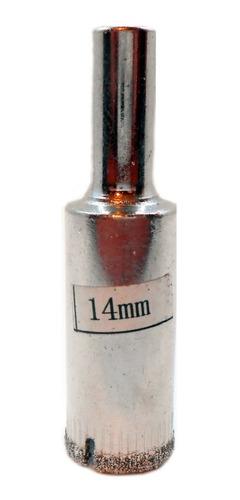 Imagen 1 de 6 de Mecha Diamantada 14mm Vidrio Cerámica Mármol Porcelanato