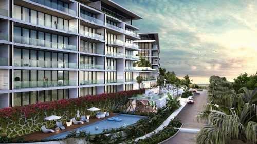 Departamento En Venta Ubicado En Zona Lujosa De Cancún, Mod. N-1f Allure .