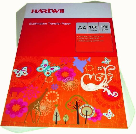 Papel De Sublimación Profesional Original Hartwii A4 200h