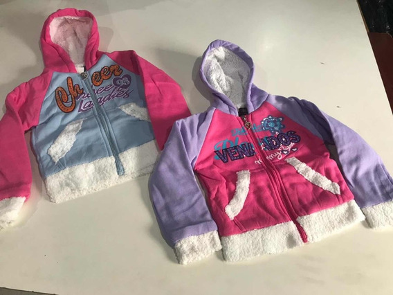Kit Com 03 Moletons Infantis Feminino Atacado