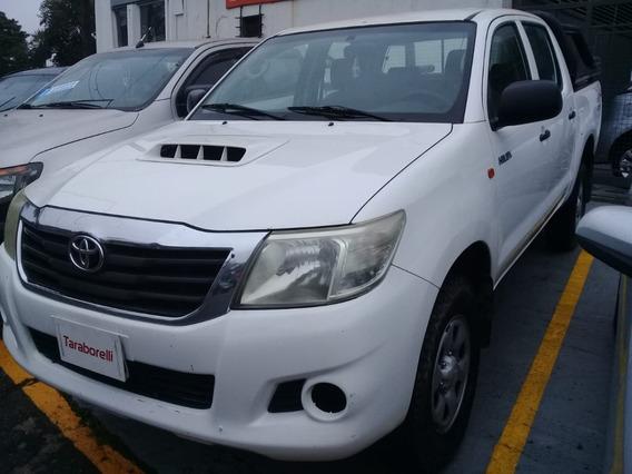 Toyota Hilux 2014 2.5 Cd Dx Pack 120cv 4x4 Taraborelli