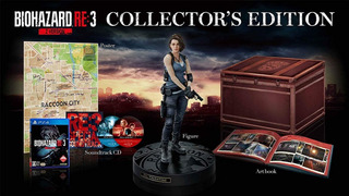 Resident Evil 3 Collectors Edition Ps4 Jp