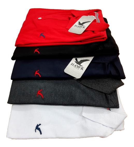 Kit 5 Camisas Polo Masculina Camiseta Blusa De Luxo Atacado