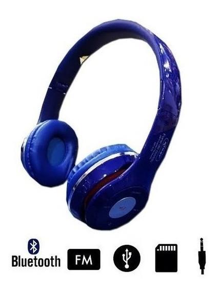 Fone De Ouvido Headphone Bluetooth Knup Kp415 Cartao Sd