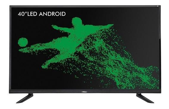 Smart Tv Android Led 40 Ptv40e21dswn, Full Hd, Wi-fi, Usb,