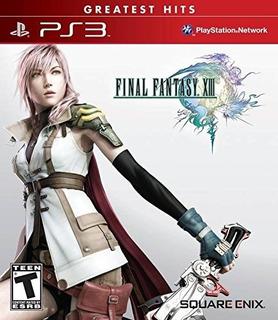 Final Fantasy Xiii Ps3 Nuevo Y Sellado