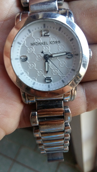 Reloj Para Dama Mk Inoxidable Dial Blanco A Cuarzo (57)