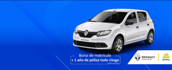 Renault Sandero Life + Fase 2