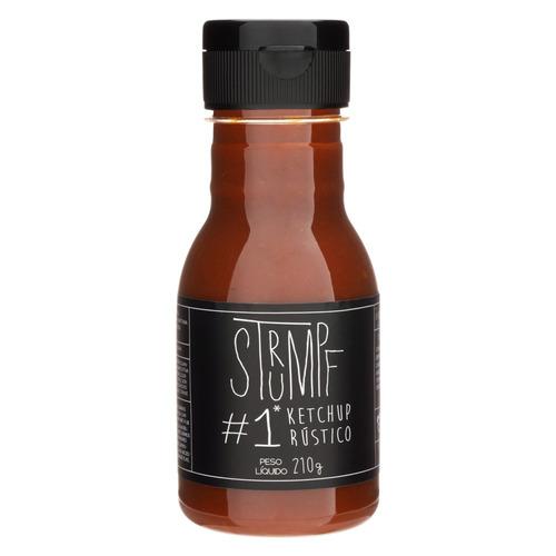 Imagem 1 de 2 de Ketchup Rústico Strumpf #1 Squeeze 210g