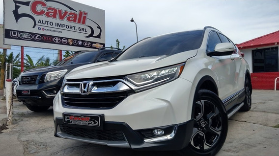 Honda Crv Awd Exl Blanca 2018