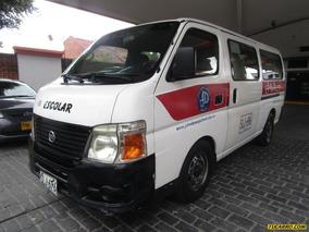 Nissan Urvan Urvan Pasajeros