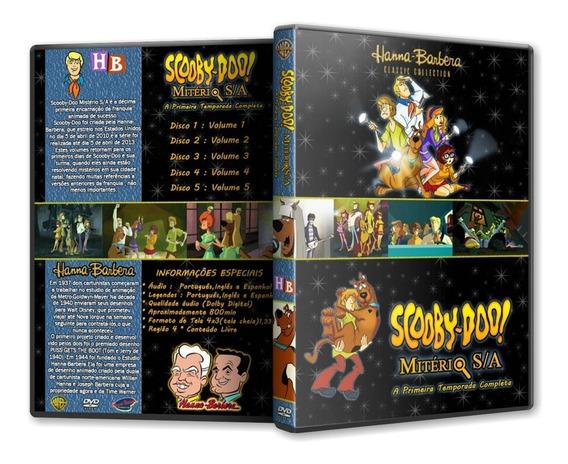 Dvd Scooby Mistério S/a Completo 52 Episodios Caixa E Capa