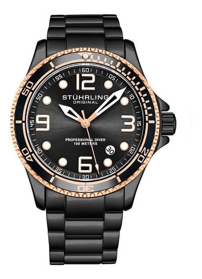 Relógio Quartzo Stuhrling - Aquadiver Caballero 3930.9