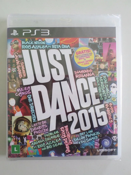 Just Dance 2015 Ps3 Lacrado Fisico Pronta Entrega