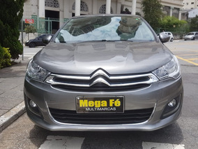 Citroën C4 Lounge 1.6 Thp Flex 2018 Complet Ipva Total Pago
