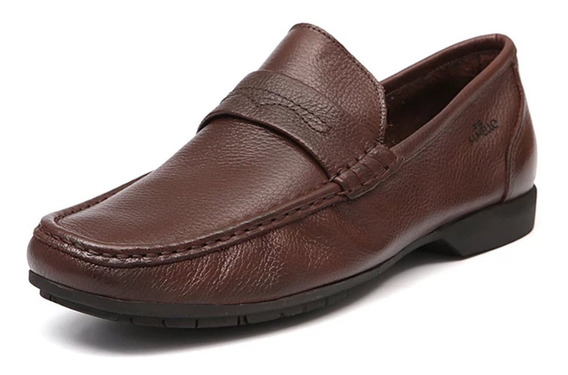 Sapato Samello Loafer Barrom Masculino Chocolate