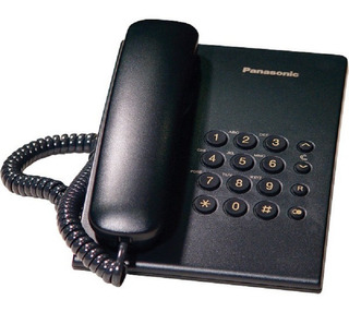 Telefono Panasonic Kx-ts500 Alambrico Basico Unilinea Sin Me