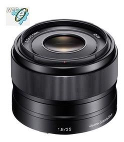 Lente Sony E 35mm F/1.8 Oss E-mount Sel35f18 Nova !