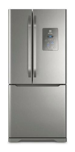Imagen 1 de 5 de Heladera no frost Electrolux DM84 acero inoxidable con freezer 579L 220V - 230V