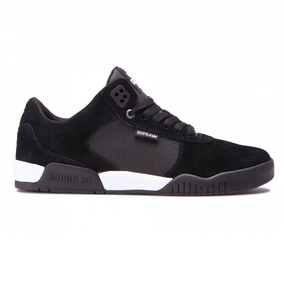 Zapatos Supra Ellington Black Grey White