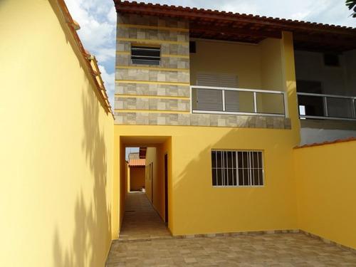 Sobrado Residencial À Venda, Itaóca, Mongaguá. - So0078
